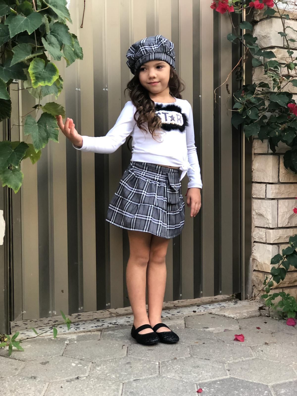 חצאית וחולצה לחנוכה