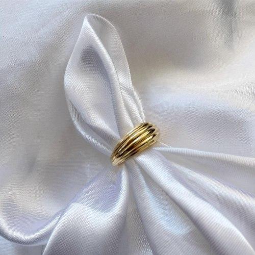 טבעת סימונה פתוחה גולד