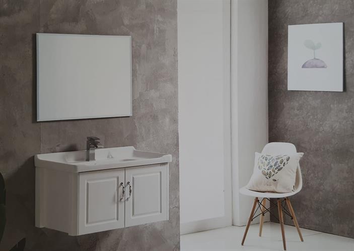 ארון אמבטיה תלוי בעיצוב נקי דגם קרינה KARINA