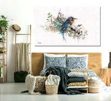 תמונה מודרנית של ציפור לסלון