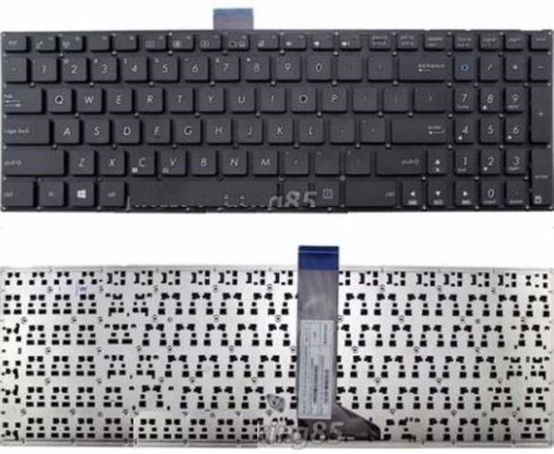 החלפת מקלדת למחשב נייד אסוס ASUS F502 F502CA ASUS X502 X502CA MP-12F53US-5281W, US layout Black