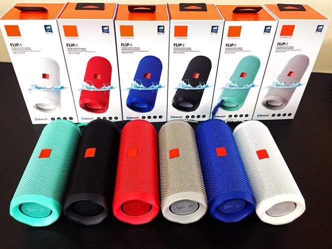 Flip 4 Wireless Portable Stereo Speaker Bluetooth Waterproof Microphone