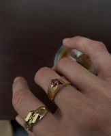 טבעת ללה זהב