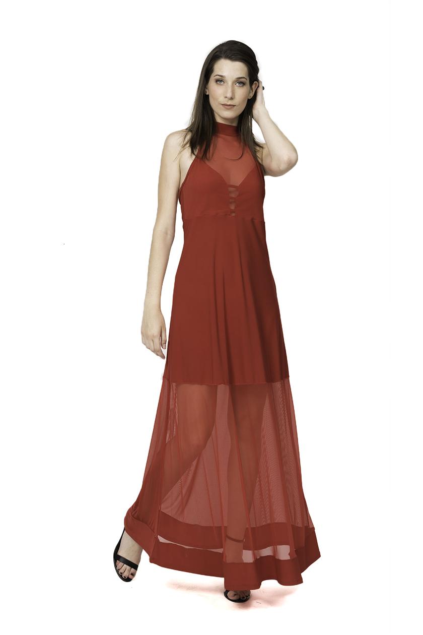שמלת לואיז אדום