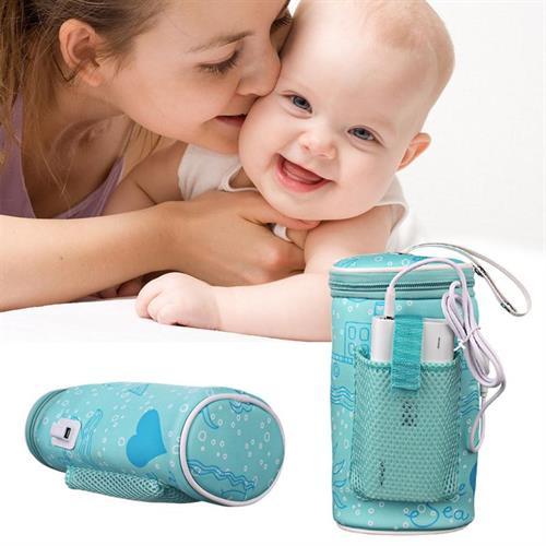 מחמם בקבוקים לתינוקות באמצעות חיבור USB