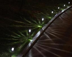 10 מנורות גינה דקורטיביות