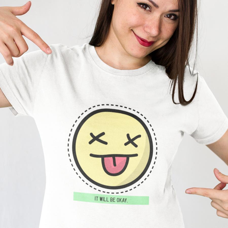 חולצת טי - It Will Be Okay