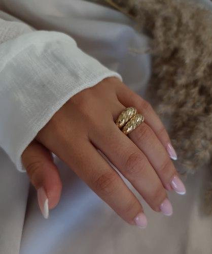 טבעת אריזונה זהב