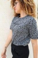 חולצת טיגריס אפורה