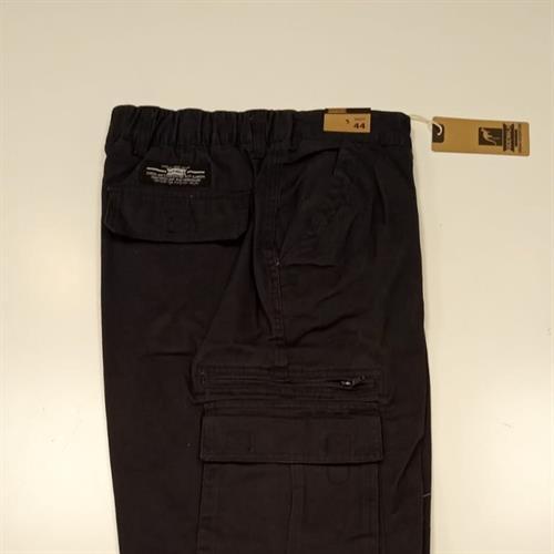 מכנס דגמח קלאסי שחור נייבי