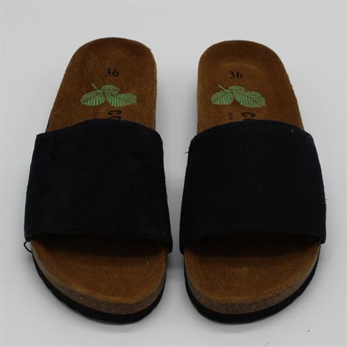 נעלי נוחות רצועה עבה שחור
