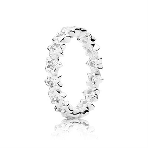 טבעת כסף פנדורה 190974CZ