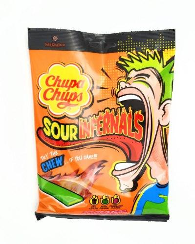 Chupa Chups sour infernals Chew