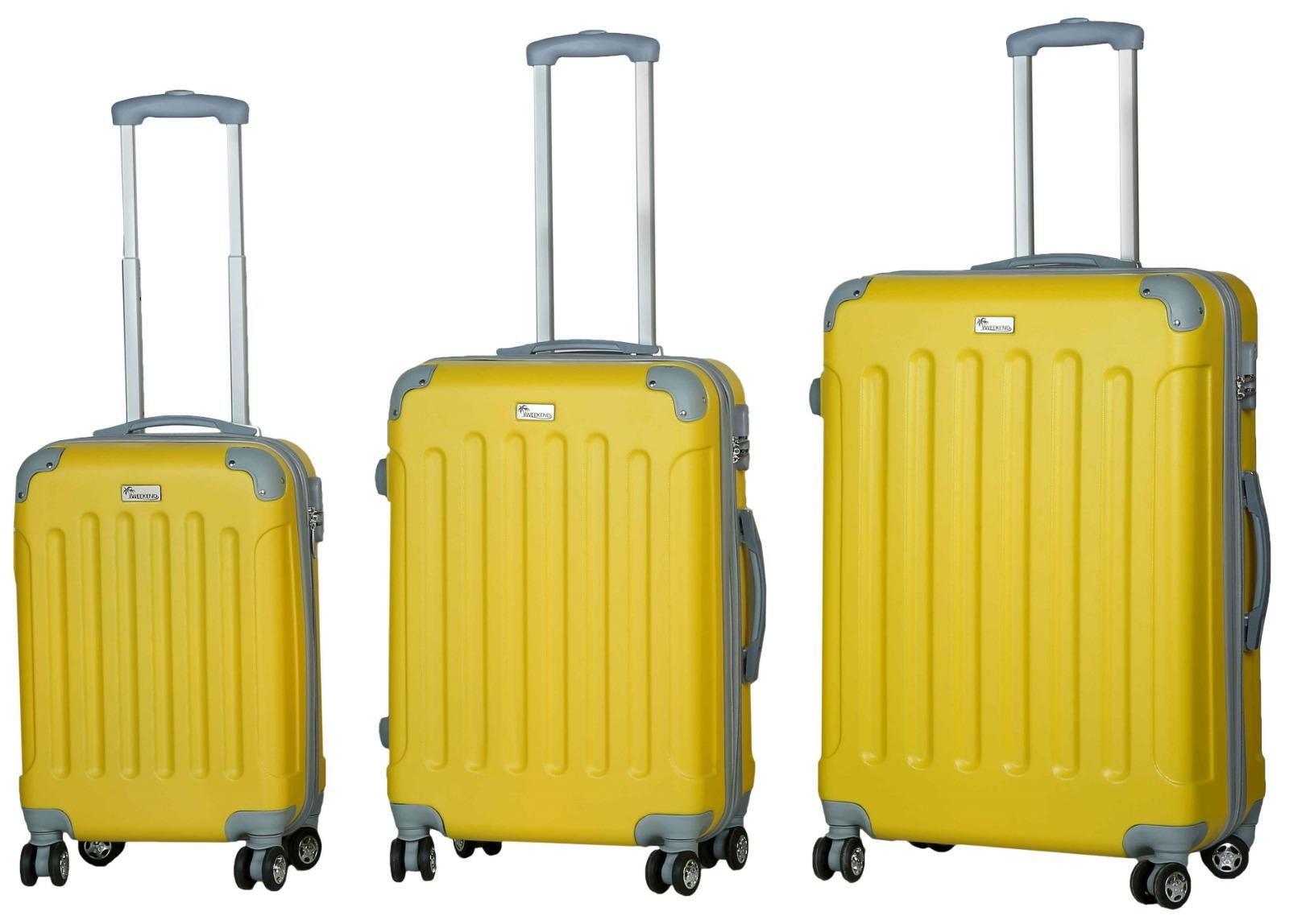 סט מזוודות קשיחות Weekend