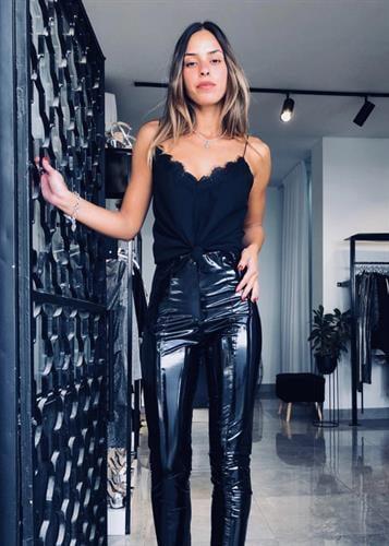 מכנסיים קיטי שחור
