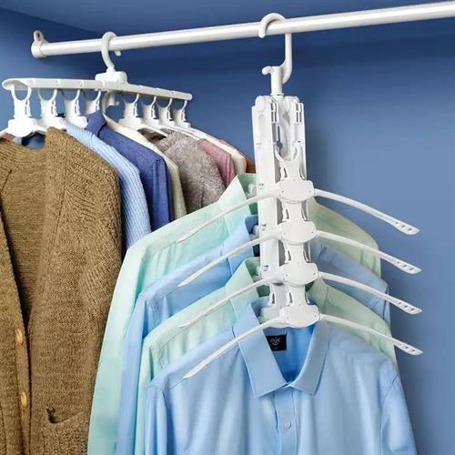 מתלה בגדים מתקפל 8 ב-1