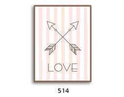 תמונת השראה מעוצבת לתינוקות, לסלון, חדר שינה, מטבח, ילדים - תמונת השראה דגם  514