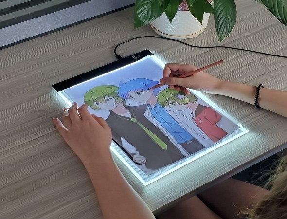 משטח לימוד ציור חכם