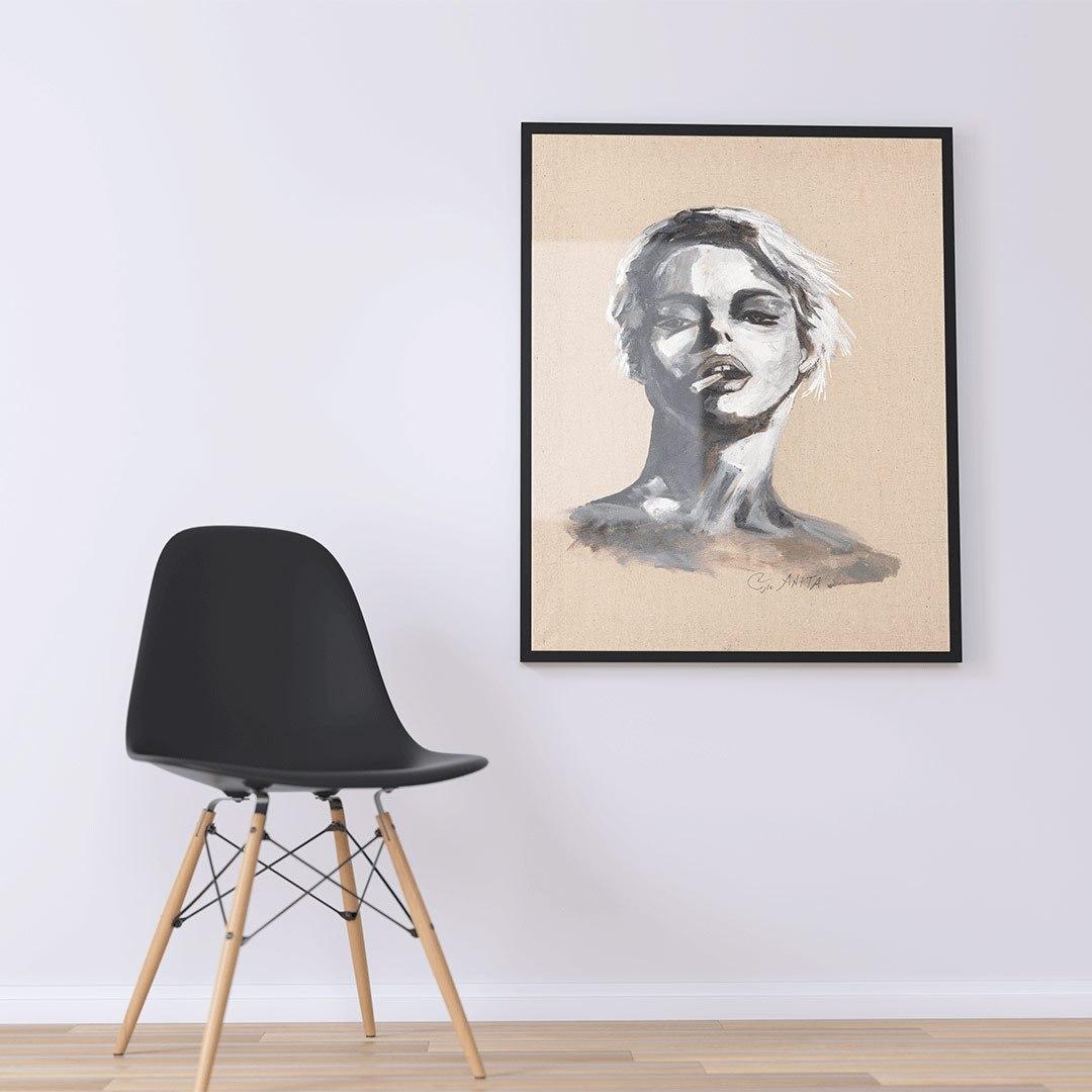portrait of woman 3