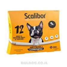 """קולר קרציות סקאליבור לכלבים עד 8 ק""""ג  -SCALIBOR"""