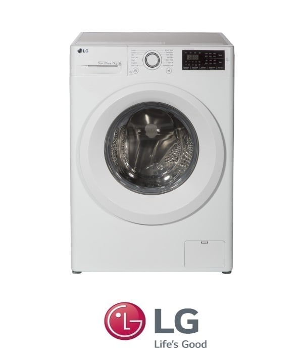 "LG מכונת כביסה 7 ק""ג דגם F0712WW"