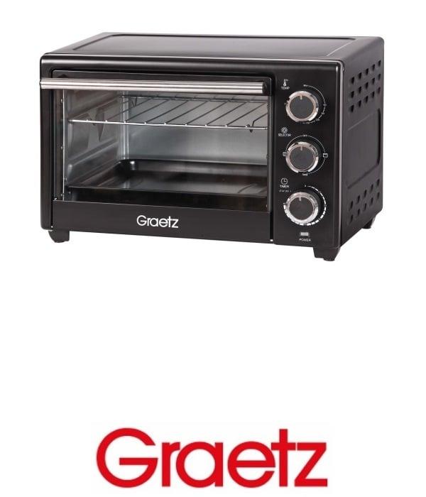 Graetz טוסטר אובן 18 ליטר דגם OT-1890B שחור