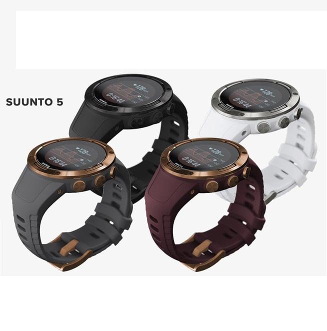 שעון סונטו עם דופק מהיד Suunto 5
