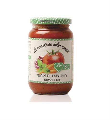 רוטב עגבניות עם בזיליקום