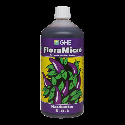 פלורה מיקרו מים קשים 1 ליטר Flora Micro Hard water