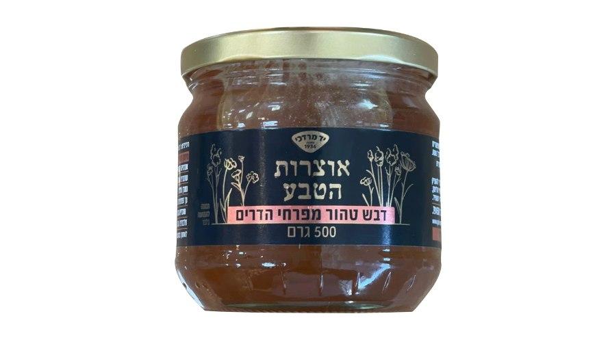 עותק של דבש טהור מפרחי הדרים - ״יד מרדכי״ אוצרות הטבע 500 גרם