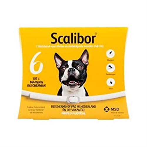 קולר סקליבור למניעת קרציות לכלב קטן