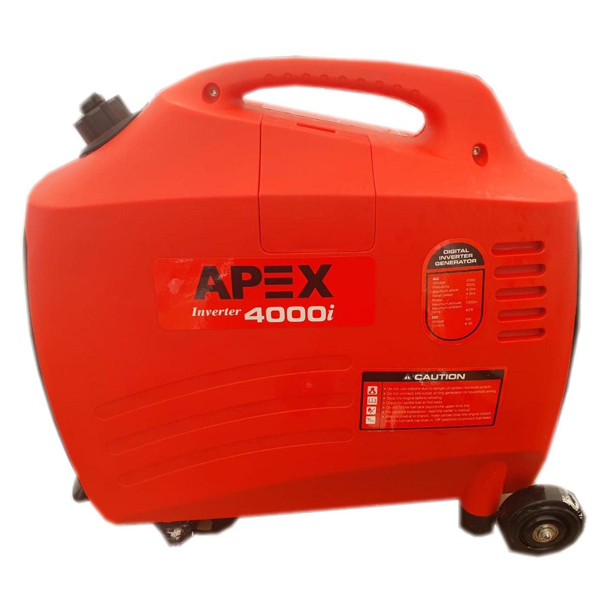 גנרטור מושתק אינוורטר בנזין 4200W חברת APEX