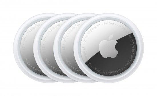אייר תג - Apple AirTag - ארבע יחידות