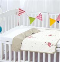 שמיכת קיץ פלמנגו למיטת תינוק