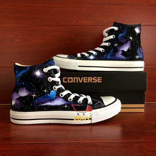 נעלי converse design all star chuck taylor יוניסקס בעיצוב בלעדי galaxy במידות 35-49
