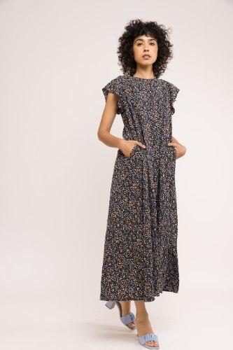 שמלת אנני - מקסי פרינט