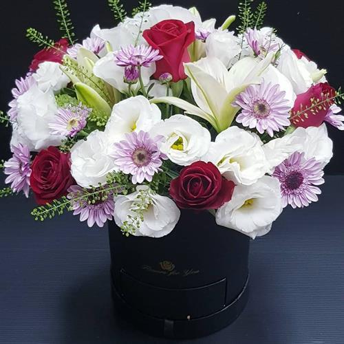 סודור  פרחים בקופסא מקט 01112