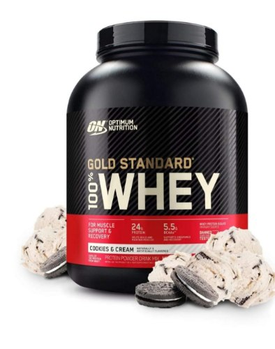 Optimum Nutrition Gold 100% Whey USA|גולד סטאנדרט 2.27KG USA+שייקר חכם