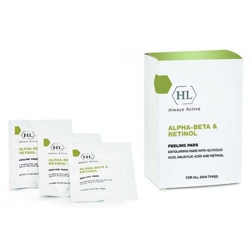 רטיות פילינג מסדרת ABR קומפלקס - Holy Land Alpha-Beta Retinol Peeling pads