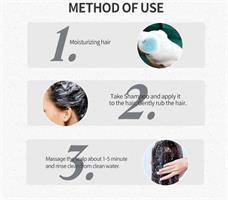 שמפו מוצק אורגני לטיפול בנשירת שיער