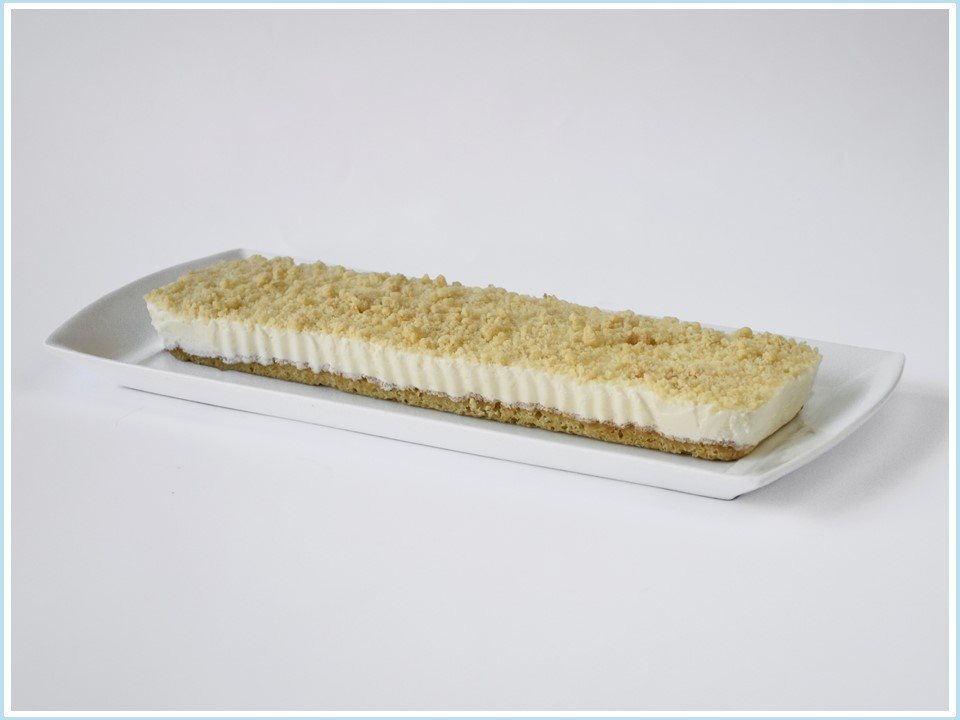 עוגת גבינה מוס פירורים - מוצר לפסח (קטניות)