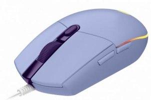 עכבר גיימינג חוטי LogiTech G102 Lightsync לוגיטק