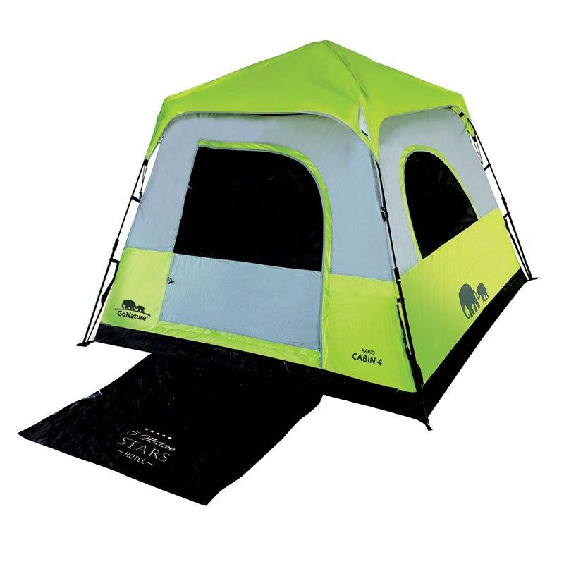 אוהל ל 4 אנשים משפחתי | RAPID CABIN