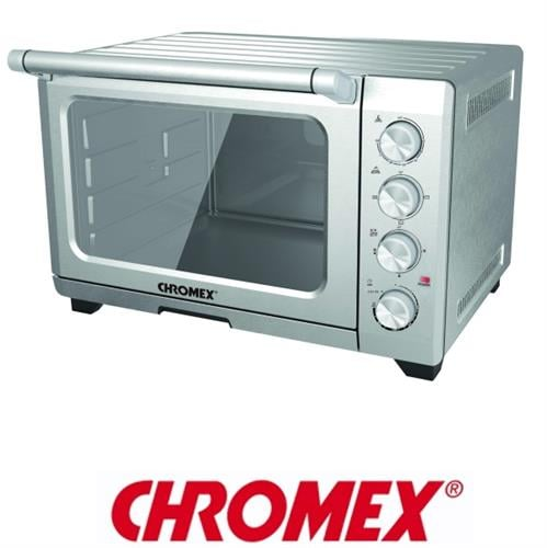 CHROMEX מיני תנור נירוסטה עם טורבו דגם: TO-3355
