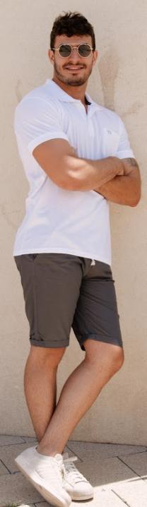 מכנס צ'ינו קצר