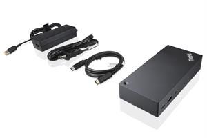 תחנת עגינה Lenovo ThinkPad USB-C Dock