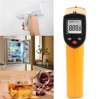 מד חום תעשייתי עד 320°C דיגיטלי אלחוטי עם קרן לייזר GM-320