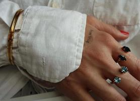 טבעת אן זהב