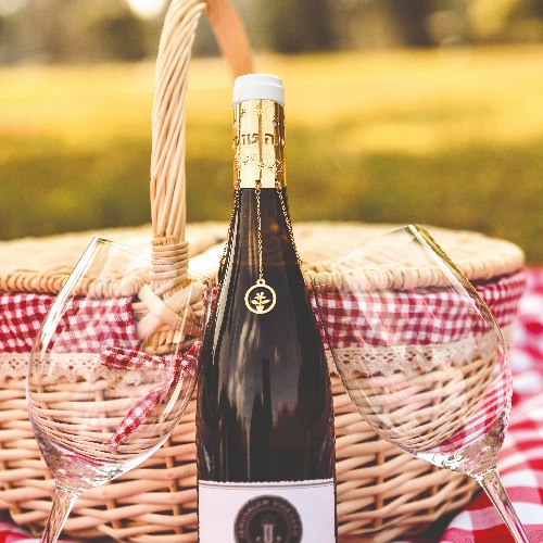 סלסלת יין איכותי