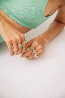 טבעת מייקי זהב